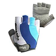 Handschuhe Fahhrad Atmungsaktiv Unisex Grau Baumwolle