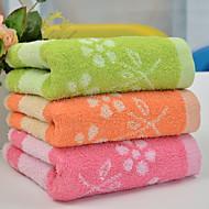 1 ks plná bavlna ručník 13 o 29 palců květinový vzor absorpční silný zásobník na vodu