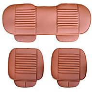 kopás háromrészes szén bőr autóülések öt sit backless ülőpárna négy évszak általános