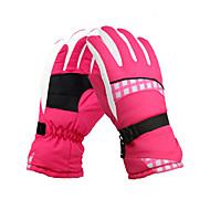Ski-Handschuhe Vollfinger Damen Sporthandschuhe warm halten Wasserdicht Skifahren Klettern Radsport/Fahhrad Camping & Wandern Motorrad