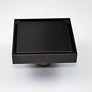"""Drainage / Bronze Huilé10CM(4"""")*10CM(4"""") /Laiton /Antique /10CM(4"""") 10CM(4"""") 0.6"""