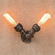 ac 220v-240v 40W e27 bg803-2 nostalgia yksinkertainen vesijohto koristeellinen pieni seinä lamppu seinävalaisin