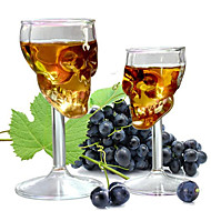 Creative Skull Design Whiskey Red Wine Glass Glassware Accessories
