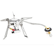 Bump quality split camping stove with automatic ignition of ultra light 150 grams of good quality KL-S3