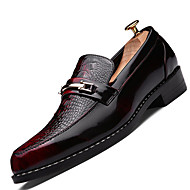 Men's Loafers & Slip-Ons Spring / Summer / Fall / Winter Comfort Casual Flat Heel Lace-up Black / Brown / Gray Others