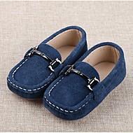 플랫-캐쥬얼-남아 신발-컴포트-스웨이드블랙 / 블루
