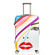 Uniseks Handbagage/Cabinekoffer Niet geweven Wit Beige Rood Groen