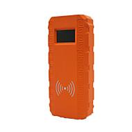 q8 draadloos snel opladen van de auto multifunctionele auto te starten vermogen (kleur oranje)