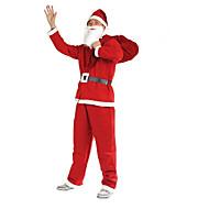 1kpl christmas vaatteet 5 kpl kuitukangas vaatteita aikuisille suorittaa puvut joulupukki vaatteet rekvisiitta