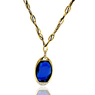 Necklace Pendant Necklaces Jewelry Wedding / Party / Daily Bohemia Style Alloy Gold 1pc Gift