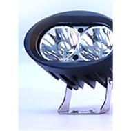 (Hvid reflekterende skål 6000 k) hvid førte spotlight floodlight arbejdslys