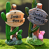 Moss Micro - Landscape Resin Technology More Meat King Decoration Cactus Road Signs Decoration DIY Materials