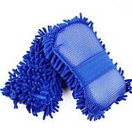 autoyouth 1-pakning svamp Mikrofiber vaskemaskin håndkle støvkost for rengjøring& detaljering bil styling wahing børster for Ford Focus