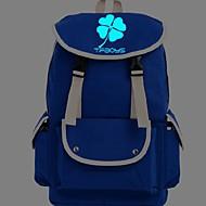 Unisex Schultasche Leinwand Normal Gelb Blau