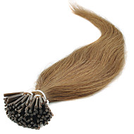 "100strands 16 ""18"" 20 ""22"" 24inch keratiini stick tip hiusten pidennykset i kärki hiukset"