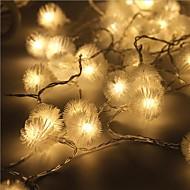 40-הוביל אור קישוט חג המולד חיצוני תקע עמיד למי אור כוכב 5m הוביל אור המחרוזת