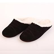 M.livelihood.H Men's Slippers & Flip-Flops Winter Slingback Wool Casual Flat Heel Others Black Others-LB2016024