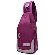 Sports Casual Outdoor Sling Shoulder Bags Women Oxford Cloth Polyester Cotton Purple Blue Black
