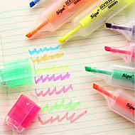 סמנים וסימון עֵט עטי צבע מים עֵט,פלסטיק חָבִית צבעי דיו For ציוד בית ספר ציוד משרדי חבילה של