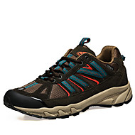 Unisex Sneakers Fall Comfort Leather / Tulle Outdoor Platform Lace-up Black / Blue / Green Hiking