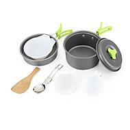 1-2 Outdoor Pot Bump / Camping Pot / Portable Combined Pot / Camping Pot AT6385