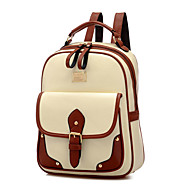 Women PU Polyester Casual Outdoor Backpack All Seasons