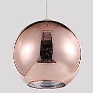 Pendant Light ,  Modern/Contemporary Globe Electroplated Feature for Designers GlassLiving Room Bedroom Dining Room Study Room/Office