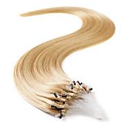 neitsi 20 '' 50g micro anneau liens droites de boucle extensions de cheveux 1g / s 100% cheveux remy humaine