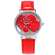 Women's Fashion Wrist Quartz Personality Simple Originality Watch Cool Casual Watch Unqiue Watch Heart Shape Watches