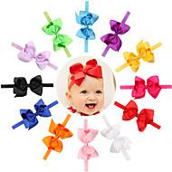 16pcs / set tyttövauvaa hairbows panta todder hiustarvikkeet vauvan hairband