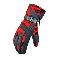 כפפות סקי על כל האצבע לנשים / לגברים כפפות ספורט/ פעילות מוגן משלג כפפות סנואובורד פוליאסטר חורף ירוק / אדום / אפור / שחור / כחול