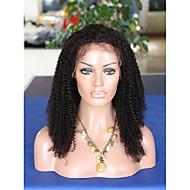 8a מונגולי חזית תחרה מתולתלת קינקי שיער אדם פאות glueless אפר קינקי פאה מתולתלת עבור נשים שחורות אפרו חזיתית מתולתל פאות תחרה