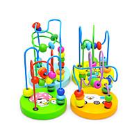 צעצוע חינוכי / צעצוע ספירה תחביבים ופנאי צילינדרי עץ קשת לבנים / לבנות