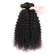3 elementy Kinky Curly Ludzkie włosy wyplata Włosy indyjskie 100g per bundle 8inch-28inch Ludzkich włosów rozszerzeniach