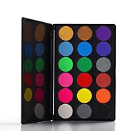 18 Paleta de Sombras Secos Paleta da sombra Pó Pressionado Normal Maquiagem para o Dia A Dia