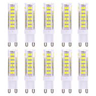 9W G9 LED betűzős izzók T 75 SMD 2835 600-800 lm Meleg fehér / Hideg fehér Dekoratív AC 220-240 V 10 db.