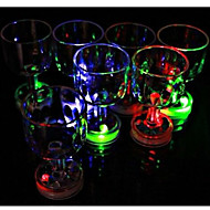 Color Flashing Small Goblet with LED Flash Light(1 PCS)