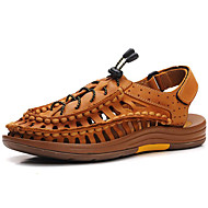 Men's Sandals Spring / Summer / Fall Gladiator / Comfort Nappa Leather Outdoor / Office & Career / Casual Brown