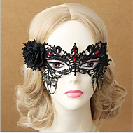 Zombies Halloween mask half face female gothic wind death mask interest face mask 1pcHalloween Kostuums / Versiering / Holiday