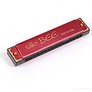 børns mundharmonika bi-kortet 16 hullers tremolo harmonika