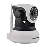 vstarcam® c7824wip 720p 1.0mp ip wi-fi overvågningskamera (nightvision tovejs audio alarm support 128GB tf)