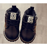 Boy's Boots Fall Winter Others Synthetic Casual Black Yellow Red