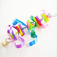 Bird Toys Metal Paper Plastic Multi-Color