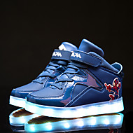 LED Light Up Shoes, Kids Boy Girls Led Shoes Spring / Fall / Winter Leather Outdoor / Sneakers / Casual Low Heel Luminous Shoes Black / Red / Blue