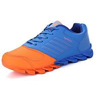 Atletické boty-PU-Platformy-Pánské-Černá / Modrá / Oranžová-Outdoor / Běžné-Plochá podrážka