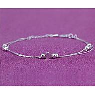 Dámské Nákotník/Náramky Postříbřené Módní Heart Shape Stříbrná Dámské Šperky Svatební Párty Denní