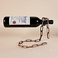 Viinitelineet Valurauta,24*14*19.5CM viini Lisätarvikkeet