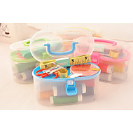 Essential Tool Sewing Kit At Home/Plastic At Least Three Things On Sale