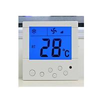 fehér légkondicionáló termosztát meleg a termosztát