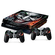 ב-סקין קונסולת PS4 מדבקה עור בקר העור מגן מדבקת כיסוי